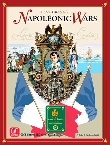 The Napoleonic Wars board game, 2nd edition box cover
