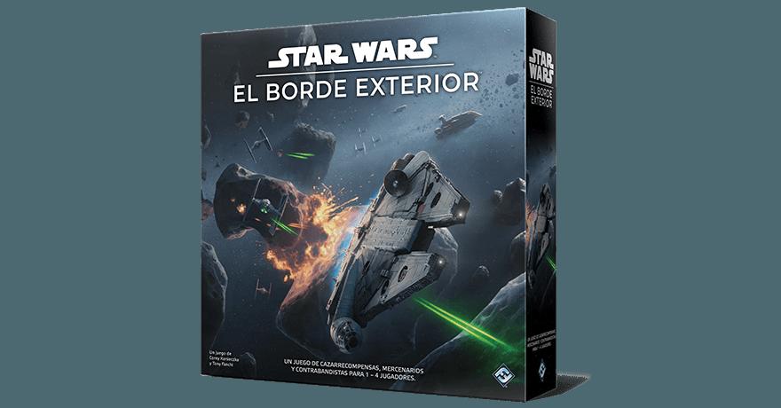 Spanish box - front