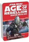 RPG Item: Age of Rebellion Signature Abilities Deck: Spy