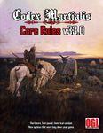 RPG Item: Codex Martialis: Core Rules