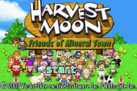 Video Game: Harvest Moon: Friends of Mineral Town