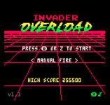 Video Game: Invader Overload