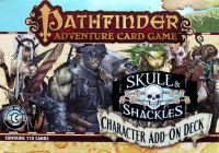 Board Game: Pathfinder Adventure Card Game: Skull & Shackles – Character Add-On Deck