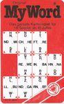 Board Game: My Word