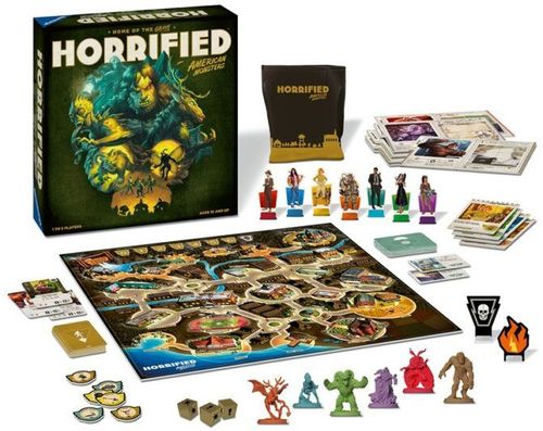 Board Game: Horrified: American Monsters