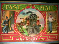 Board Game: Fast Mail