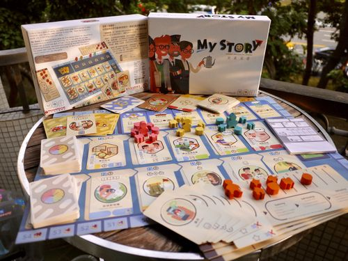 Board Game: My Story