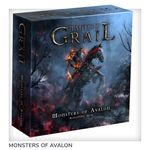 Board Game Accessory: Tainted Grail: The Fall of Avalon – Monsters of Avalon