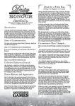 RPG Item: Duty & Honour Almanac, Edition Two