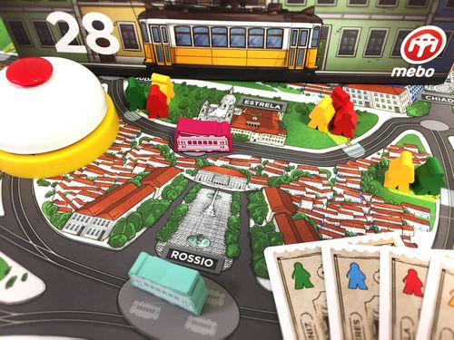 Board Game: Lisbon Tram 28