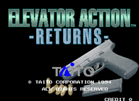 Video Game: Elevator Action Returns