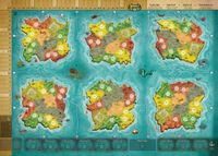 Board Game Accessory: Heroes of Land, Air & Sea: Oversized Neoprene Playmat