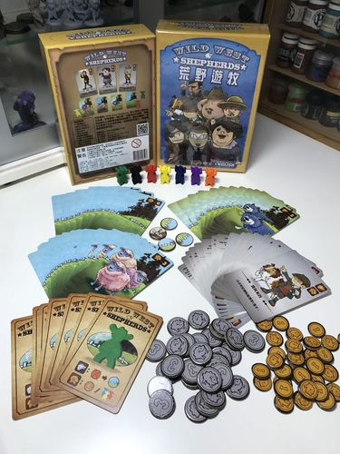 Board Game: Wild West Shepherds