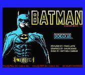 Video Game: Batman (1986)