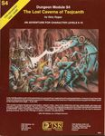 RPG Item: S4: The Lost Caverns of Tsojcanth