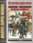 RPG Item: Gamer's Handbook of the Marvel Universe - Deluxe Edition: Abomination thru Blackwing