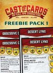 RPG Item: Cast of Cards: Freebie Pack 1