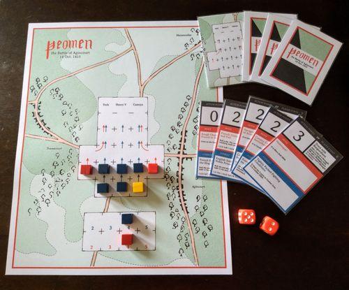 Board Game: Yeomen: The 9 Card Agincourt Game