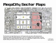 RPG Item: MegaCity Sector Maps