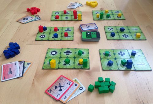 Board Game: Green Box of Games