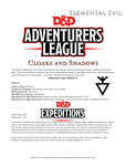 RPG Item: DDEX2-10: Cloaks and Shadows