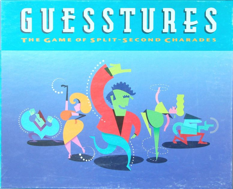 Guesstures | Image | BoardGameGeek