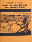 RPG Item: Swords and Glory: Index to Volume One The Source Book