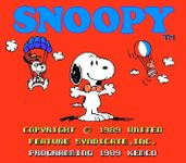 Video Game: Snoopy's Silly Sports Spectacular!