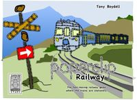 Board Game: Paperclip Railways