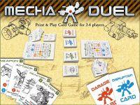 Board Game: Mecha Duel