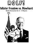 RPG Item: Mister Freedom vs. Blowhard