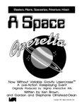 RPG Item: A Space Operetta