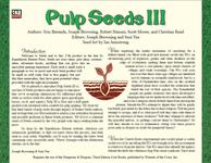 RPG Item: Seeds: Pulp III
