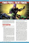 RPG Item: Power Profile #16: Talent Powers