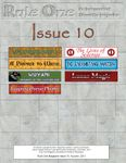 Issue: Rule One (Issue 10 - Autumn 2011)