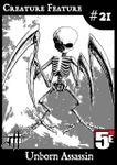 RPG Item: Creature Feature #21: Unborn Assassin