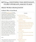 Issue: Roleplaying Tips (Issue 649)