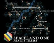 RPG Item: Hex Kit: Spaceland Part One: Space