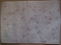 Board Game: Railway Rivals Map O: South Wales Coalfield (West)