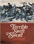 Board Game: Terrible Swift Sword: Battle of Gettysburg Game