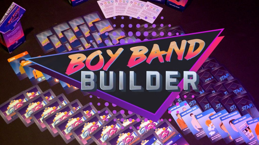 Boy Band Builder: The Card Game