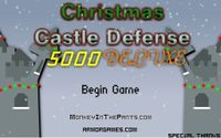 Video Game: Christmas Castle Defense 5000 Deluxe