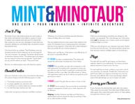 RPG Item: Mint & Minotaur