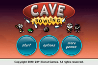 Video Game: Cave Bowling