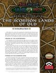 RPG Item: Land of Fire Realm Guide #14: The Scorpion Lands of Old