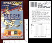 Board Game: Sportz Dice:  Soccer