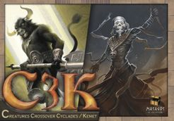 C3K: Creatures Crossover Cyclades/Kemet Cover Artwork