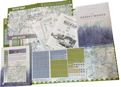 Board Game: The Deadly Woods: The Battle of the Bulge