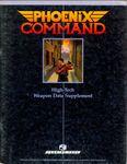 RPG Item: High Tech Weapon Data Supplement