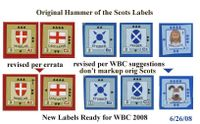Upgraded labels for WBC 2008, Check WBC event for details...